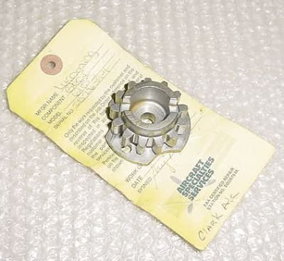61155, 13S19646, Lycoming 235 Oil Pump Gear with Serviceable tag