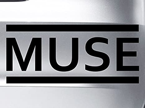 Level 33 Muse Logo – Vinilo Adhesivo – Ideal para Coches, Ventanas, Paredes, portátiles, Guitarras – Adhesivo: Amazon.es: Coche y moto