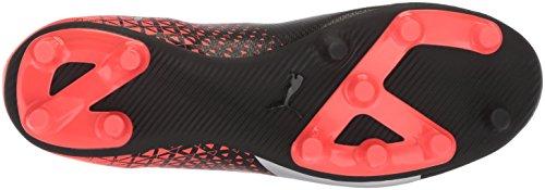 PUMA Mens Evoknit FTB FG Soccer Shoe Puma Black-puma Silver-red Blast Oggj5rF