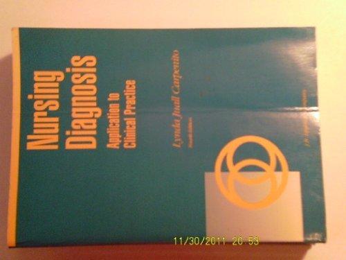 Nursing Diagnosis: Application to Clinical Practice