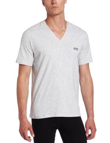 HUGO BOSS Men's Cotton Stretch V-Neck Shirt