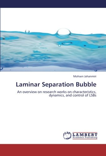 Picture of a Laminar Separation Bubble An overview 9783659412387