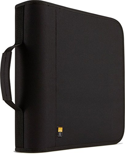 Case Logic 208 Cd Nylon (BNB208BLACK-Nylon CD/DVD Binder)