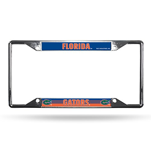NCAA Florida Gators Chrome Plate Frame