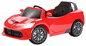 Amazon.com: Kid Trax Dodge Viper SRT 6V Ride On: Toys & Games