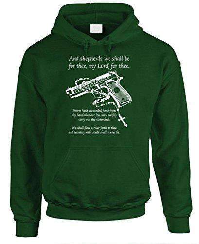 BOONDOCK PRAYER - cult classic movie guns - Mens Pullover Hoodie, 2XL, (Cult Classics Presents)