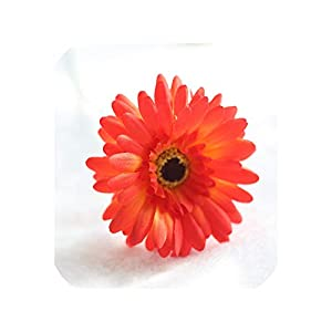 10PCS Gerbera Artificial Flower for Wedding Decoration Silk Flowers Daisy Fake Flower African Chrysanthemum Party Home Decor,O 53