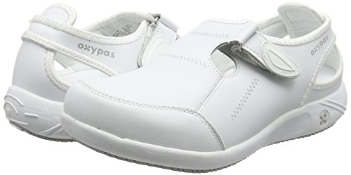 De White Oxypas white Protección Lilia Mujer White Calzado EnqwCr8q