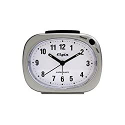 Elgin Quartz Analog Alarm Clocks