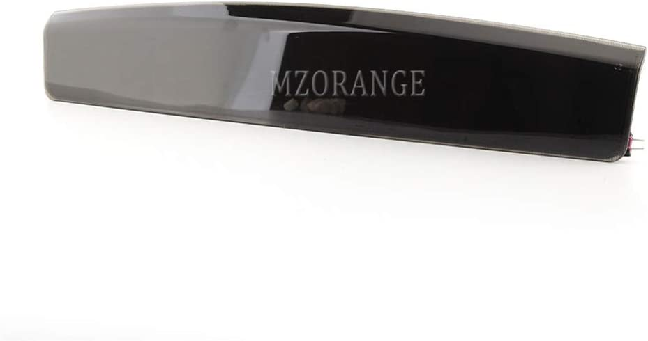MZORANGE 3rd Third High Mount Stop Brake Light For Land Rover Range Rover L322 2002 2003 2004 2005 2006 2007 2008 2009 2010 2011 2012 Black Lens