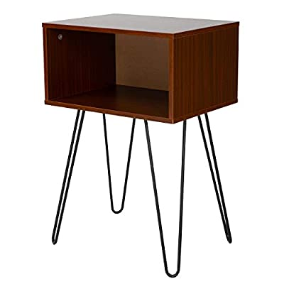 Stackable End Tables, Living Room Nightstand, Bedside Tables for Bedroom/Bedroom/Laundry Room