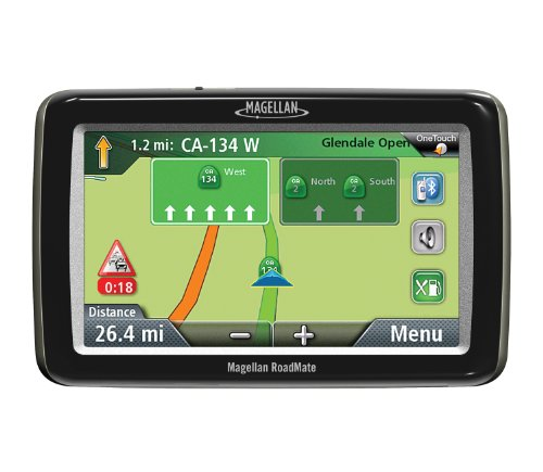 Magellan RoadMate 2055 Portable GPS Navigator with Bluetooth & Lifetime Traffic by Magellan