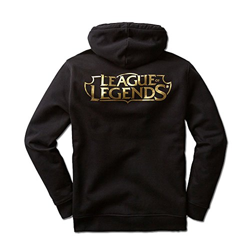 Riot Games League of Legends Official Hoodie, Black, Medium by Riot Games