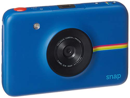 Navy Blue Film - Polaroid Snap Instant Digital Camera (Navy Blue) with Zink Zero Ink Printing Technology