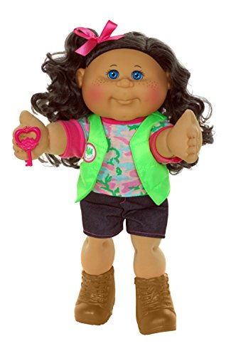 "Cabbage Patch Kids 14"" Kids -  Brunette Hair/Blue Eye Girl..."