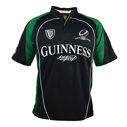 reen Short Sleeve Performance Rugby Shirt (XX-Large) ()