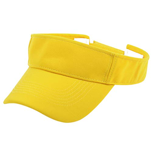 Naladoo Men Women Sport Headband Classic Sun Sports Visor Hat (Hot Dog Bun Costume Pattern)
