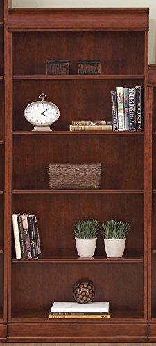 Bookcase Cherry Cabinet Traditional (Liberty Furniture Industries 101-HO3072-RTA Louis Jr Executive Bookcase 30