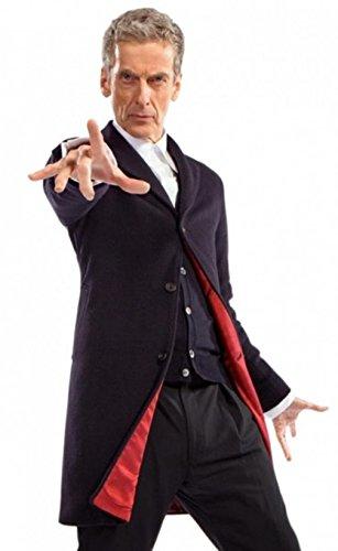 fjackets 12th Twelfth Doctor Who Peter Capaldi Coat XS -