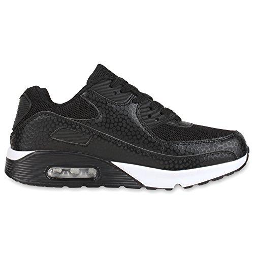 diansen® running Flyknit Boost inspirado entrenador Fitness gimnasio deportes zapatos (tamaño 6–�?1) Schwarz Muster