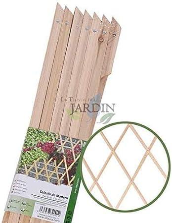 Celosía de Madera para jardín. Seto artificial extensible. (60 x 180 cm): Amazon.es: Bricolaje y herramientas