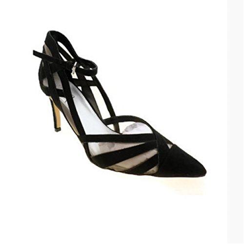 Ana Natalie Pumps Women High Heel Pump Shoes Black 8.5 M ()