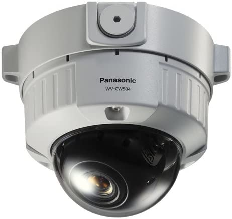 Panasonic WVCW504S Super Dynamic 5 Vandal-Resistant Fixed Dome Camera
