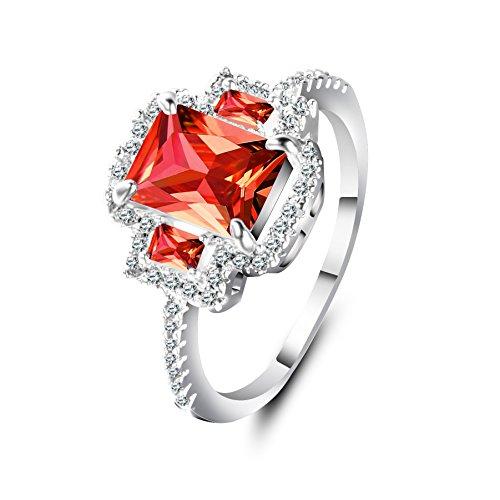 36275b2a3c74 60% de descuento Anillo Mujer Zircon Titanio Crystal Clásico Adornos Chapado  en oro Piedra Mampostería