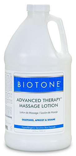 Biotone Advanced Therapy Massage Lotion, Half Gallon (64 Ounces)