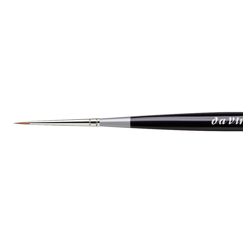 da Vinci Watercolor 100-5//0 Micro Maestro Watercolor Brush Black