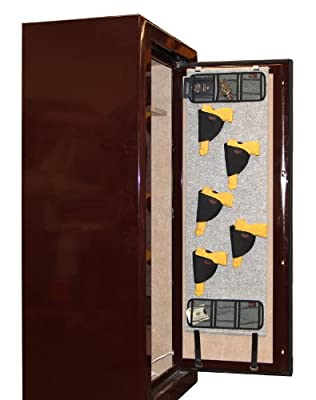 Stealth Gun Safe Door Panel Organizer Pistol Kit fits Liberty Cannon American Security Champion Sentry Winchester Heritage Storage Solution