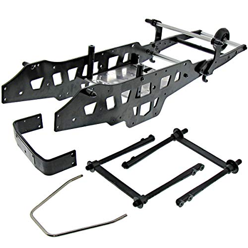 Bar Kyosho Roll (Kyosho Mad Crusher VE Chassis Side & Under PALTESBumper Wheelie Roll Bar Box)