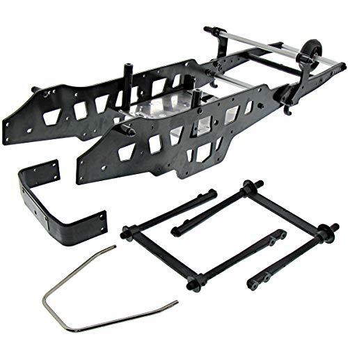 Kyosho Mad Crusher VE Chassis Side & Under PALTESBumper Wheelie Roll Bar Box
