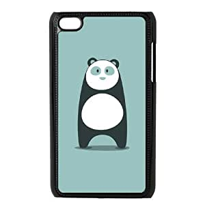 Customized Dual-Protective Case for Ipod Touch 4, Panda Cover Case - HL-R655822