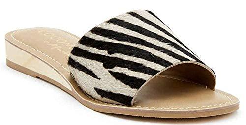 Matisse Women's Tiki Zebra Cowhair 8 M US