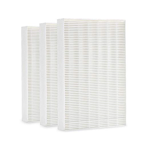 cabiclean True HEPA Replacement Filter Compatible Honeywell HPA300, HPA200, HPA100, HPA090 Series Air Purifier. Filter R (HRF-R3, 3 Pack)