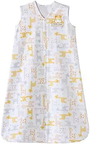 Halo Sleepsack 100% Cotton Wearable Blanket, Giraffe, Medium