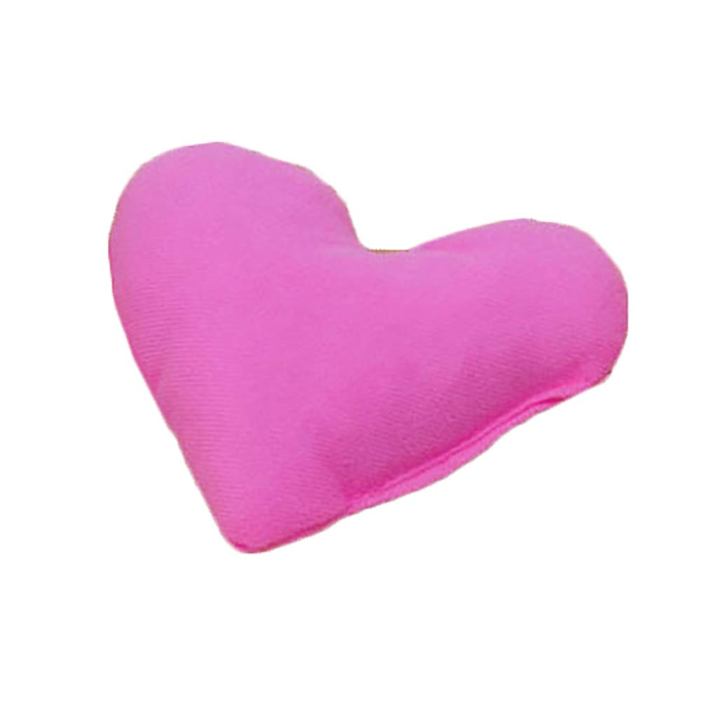 zbtrade Fashion Heart-Shaped Pet Pillow Soft Pet Kennel Toy Accessories Pink