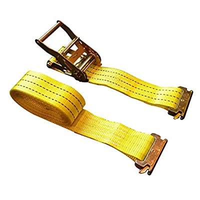 8 Pack E-Track Ratchet Straps 2