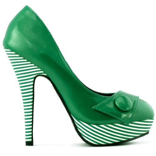 Show Story - plataforma mujer verde - verde