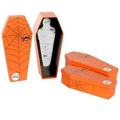 Halloween Coffin-shaped Nesting Spooky Boxes for Your Halloween Tricks and Treats! by I]()