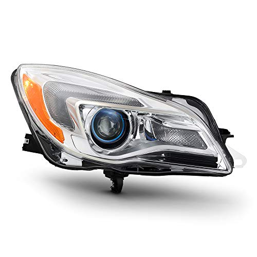 ACANII - For Replacement 2014-2017 Buick Regal Halogen Model Projector Headlight Headlamp Right Passenger Side