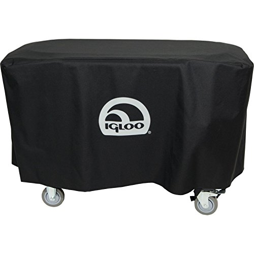 Igloo Party bar Cover, Black, 40'' L x 19'' W x 21'' D by Igloo