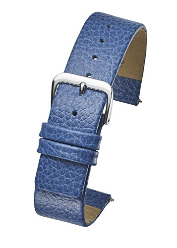 Genuine Leather Watch Band - Smooth Flat Leather Watch Strap 12mm - ()