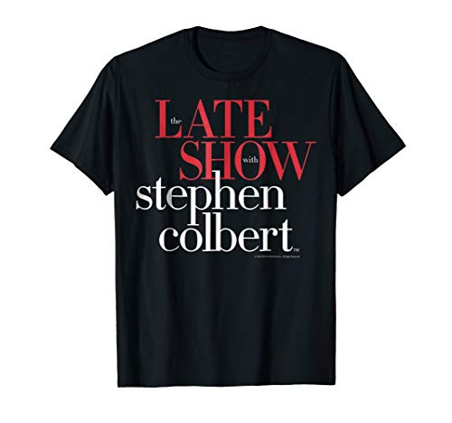 The Late Show with Stephen Colbert Graphic T-Shirt (The Late Show With Stephen Colbert Network)