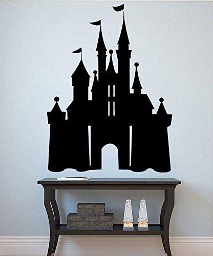 Disney Castle Wall Decal Princess Castle Vinyl Sticker Gi...