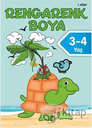 Rengarenk Boya 3 4 Yas 1 Kitap Collective 9786050954487