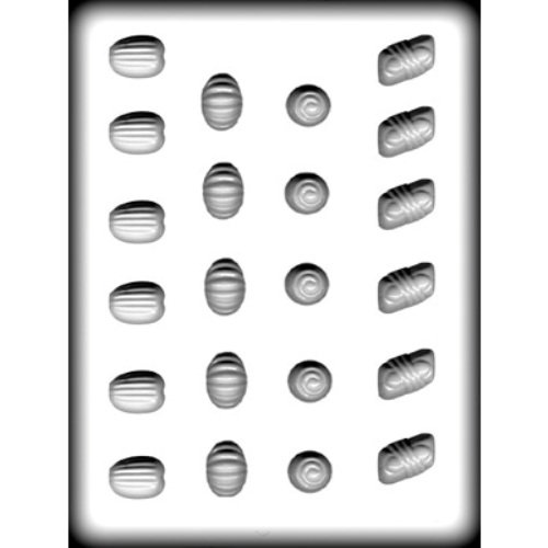 Hard Mold Assortment Candy - Fancy Assortment Candy Pieces - Hard Candy Mold - 8H-5116