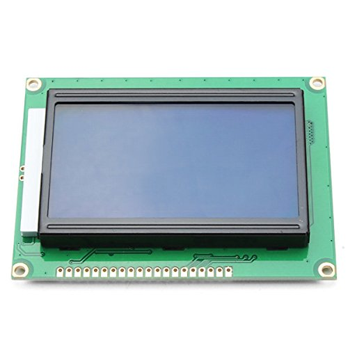 Pink Lizard 12864 128 x 64 Graphic Symbol Font LCD Display Module Blue Backlight For Arduino (Lcd Modules Graphic)