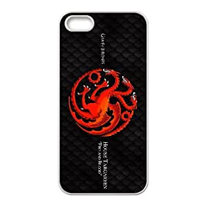 IPhone 5,5S Phone Case for Game of Thrones pattern design